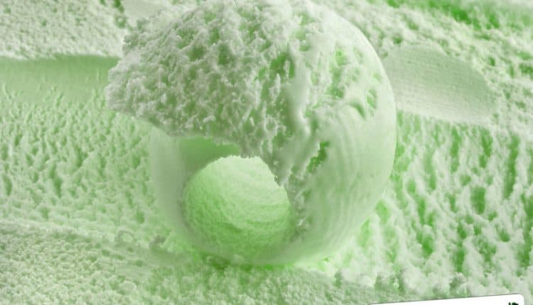 Gelato allo Chartreuse