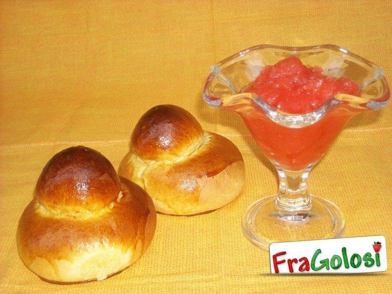 Granita di fragole