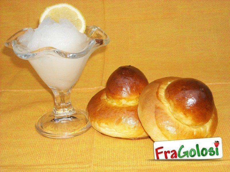 Granita limone siciliana