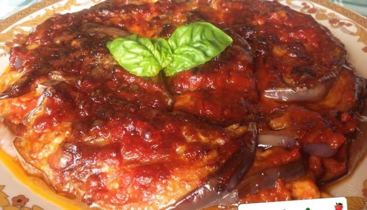 Parmigiana a piatto