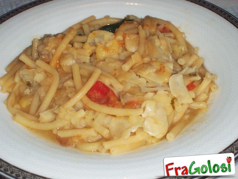 Pasta con le fave secche Maccu