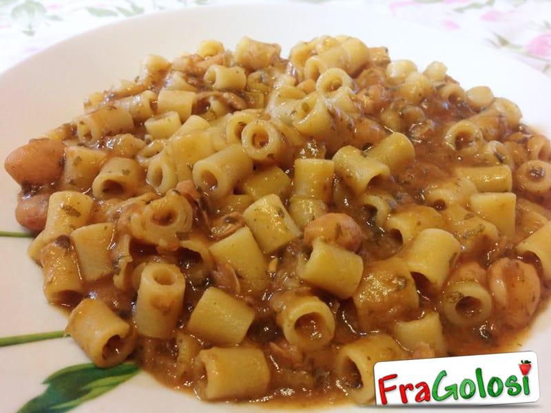 Pasta e fagioli secchi