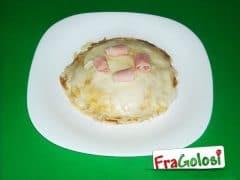 Pasticcio di Crepes, Prosciutto e Mozzarella