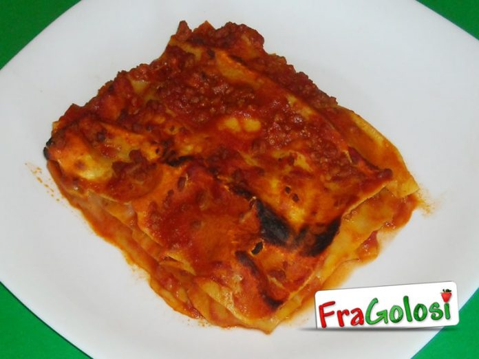 Pasticcio di lasagne al forno