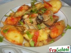 Pesce Stocco con le Patate alla Messinese