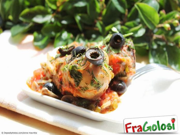 Pollo ai funghi Light