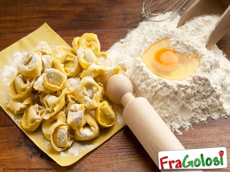 Preparazione Pasta fresca all'uovo