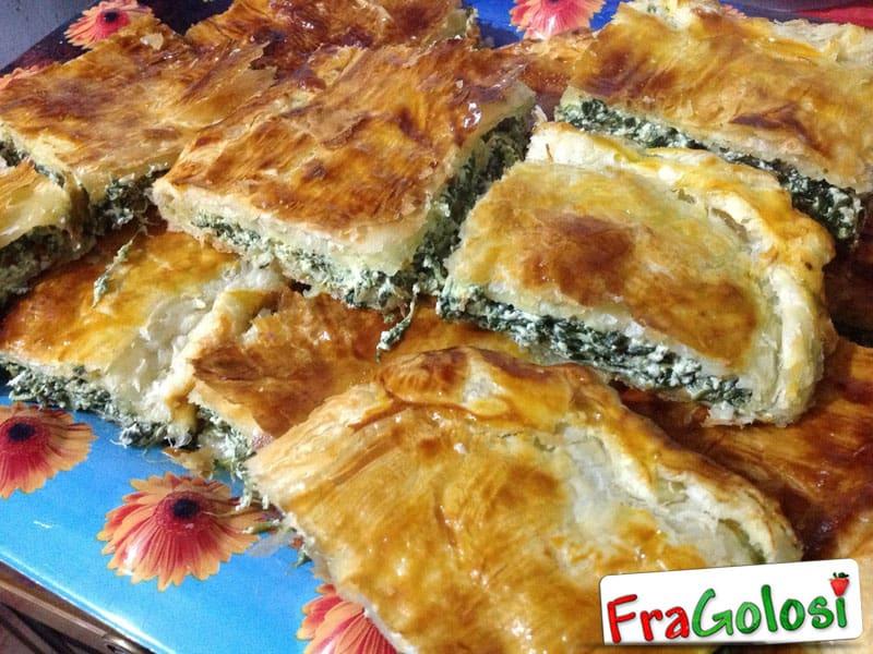Torta Salata Spinaci Ricotta e Pancetta