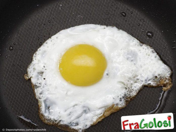 Uova al piatto