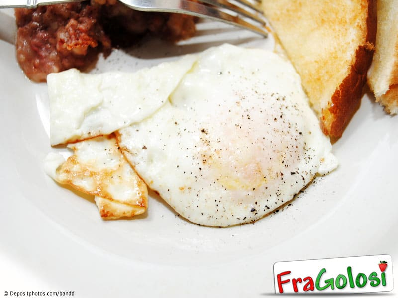 Uova fritte