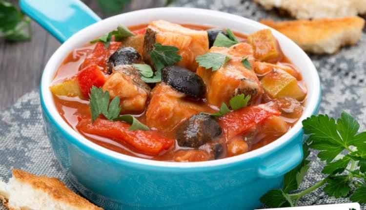 Zuppa di pesce alla Siciliana