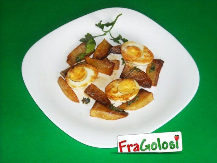 Uova sode fritte