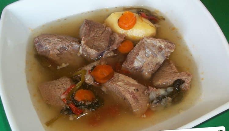 Brodo di carne bovina