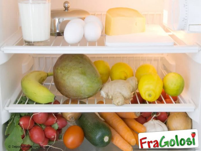 Come conservare gli alimenti in frigorifero