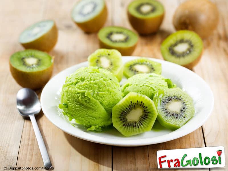 Gelato al kiwi