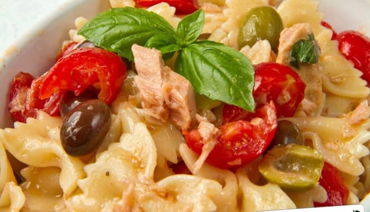 Insalata di farfalle Light