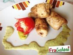 Involtini di Pesce Spada al Pesto e Zucchine
