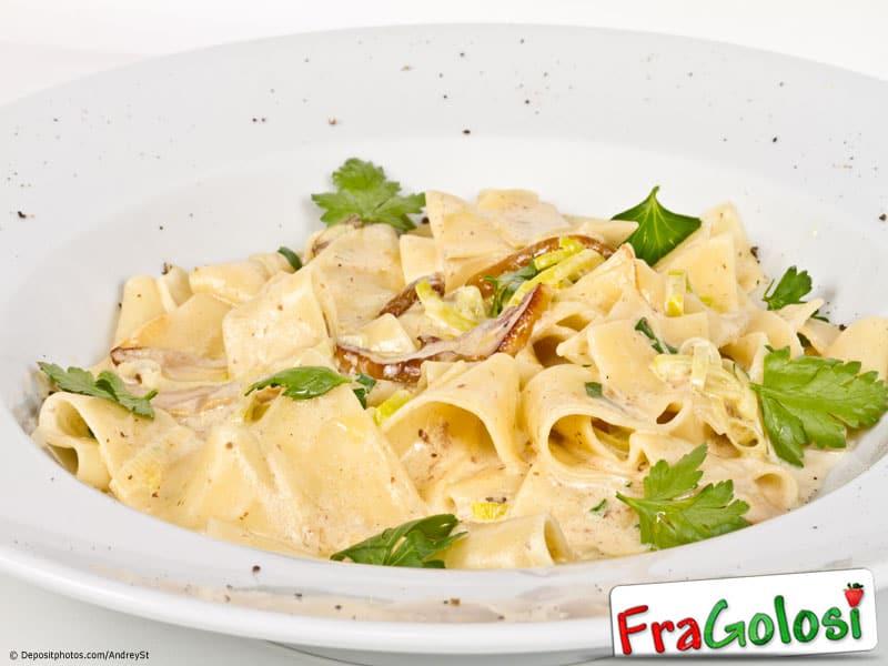 Ricetta light pasta funghi