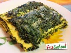 Pasticcio di Lasagne, Ricotta e Spinaci