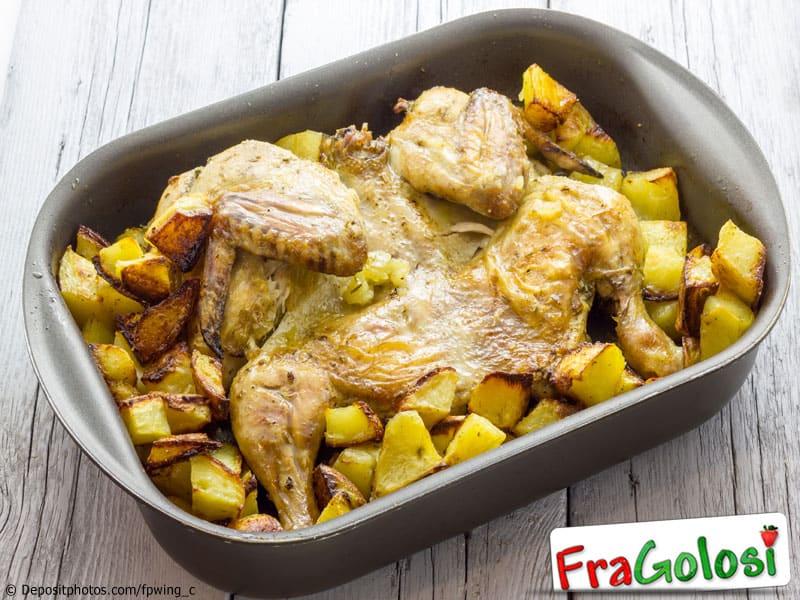 Pollo in forno