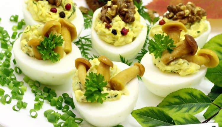 Uova al sapore di bosco