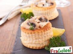 Vol Au Vent Funghi e Salsiccia