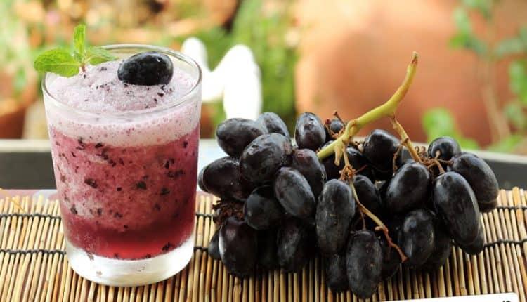 Frullato all'uva