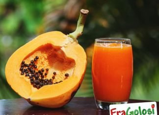 Frullato alla papaia