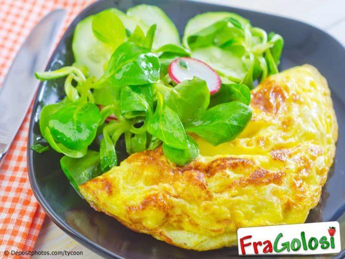 Omelette con le melanzane alla Palermitana