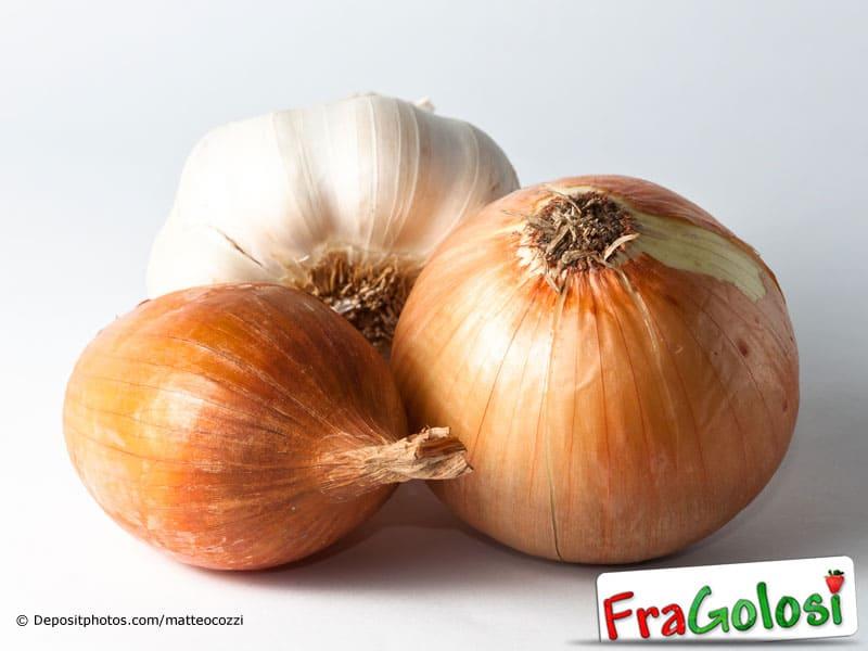 Per rendere digeribili aglio cipolla e scalogno