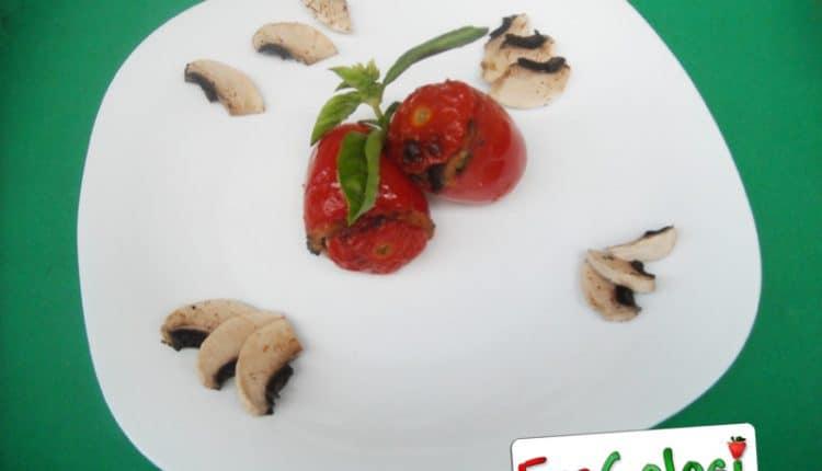 Pomodori ripieni di funghi