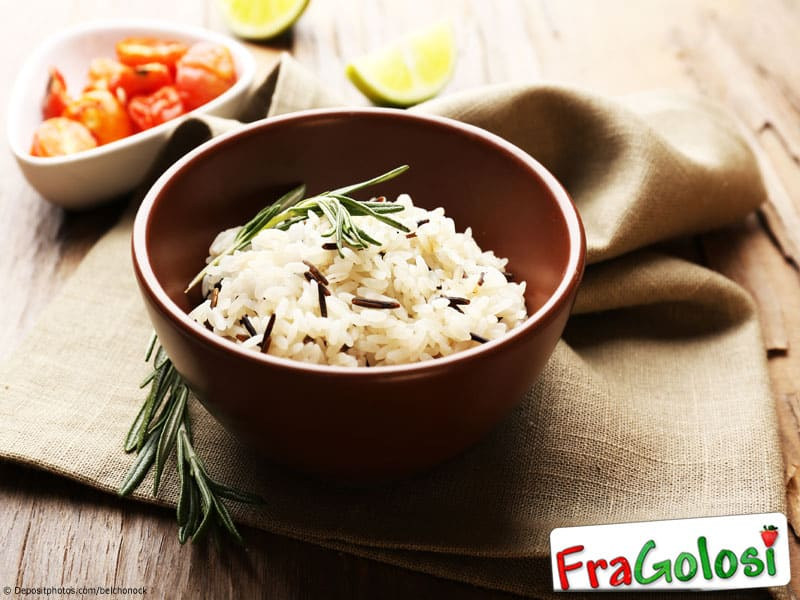 Risotto al rosmarino light