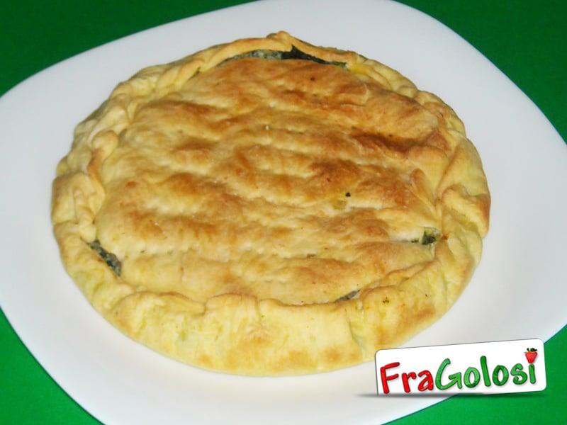 Torta rustica con spinaci