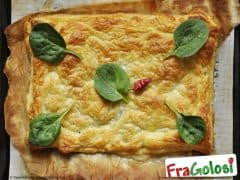 Torta Rustica di Spinaci e Prosciutto
