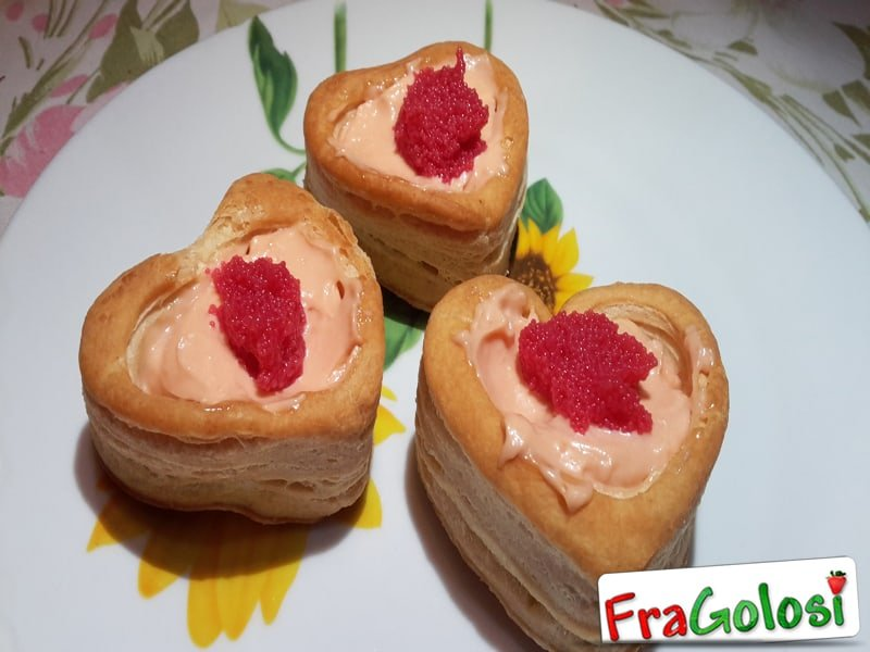 Vol au Vent alla Vodka