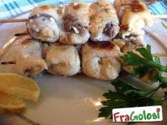 Involtini di Pesce Spada con Uvetta e Pinoli