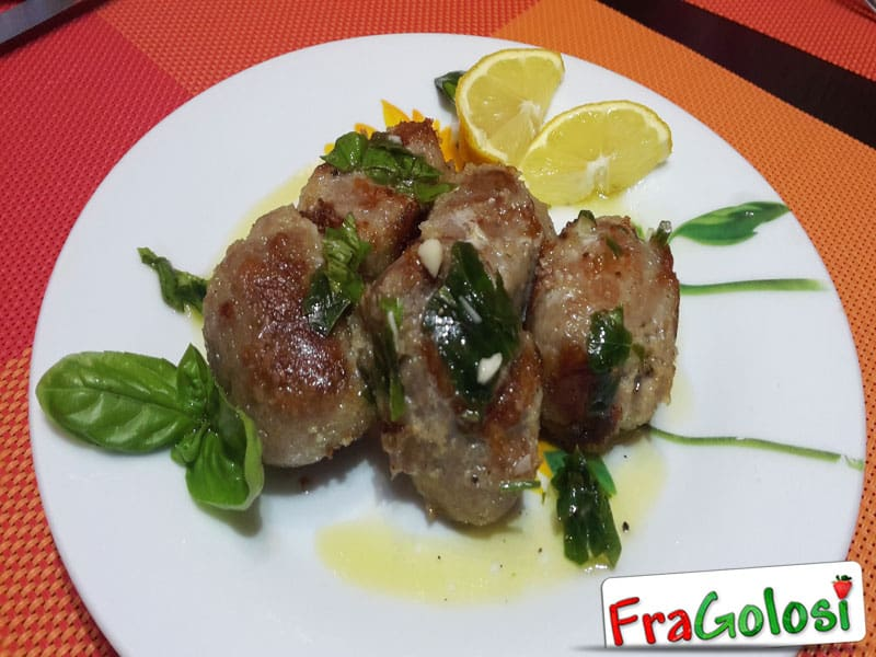 Involtini di Vitello Light