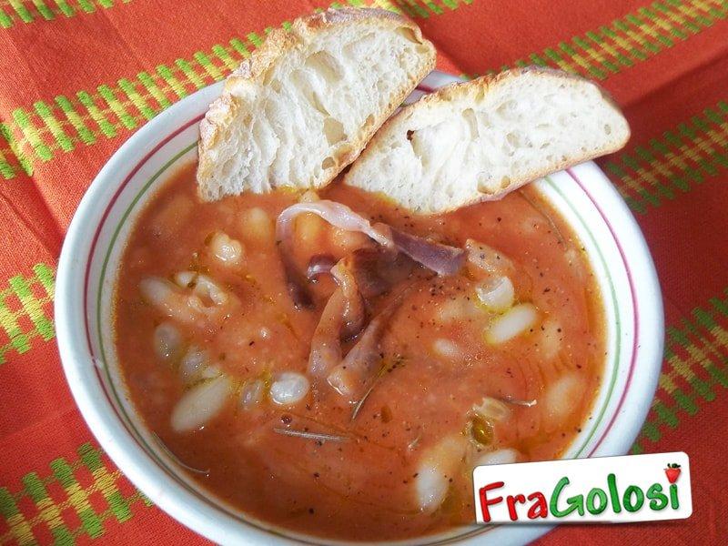 Zuppa di fagioli alla ciociara