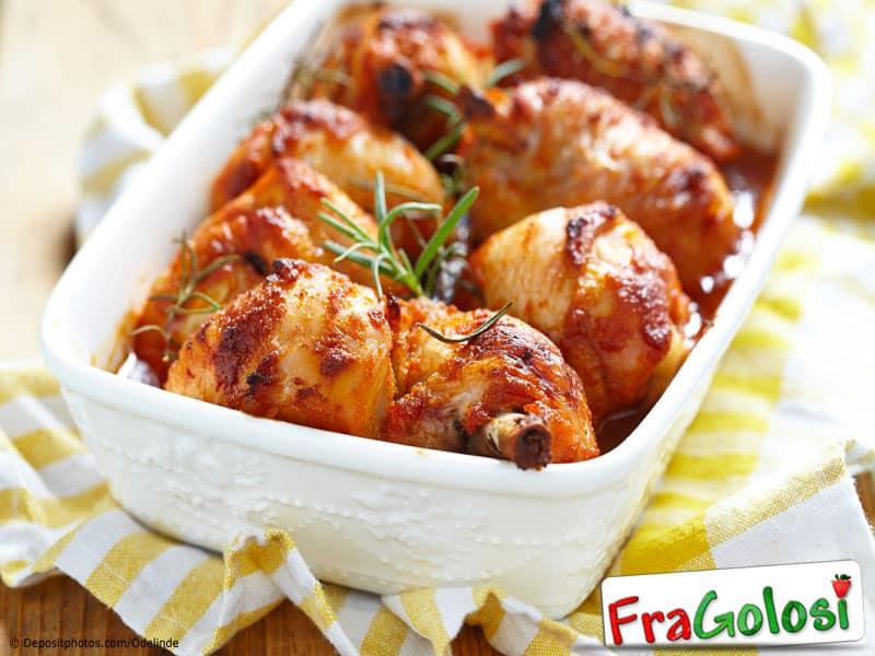 Cosce di Pollo al Forno