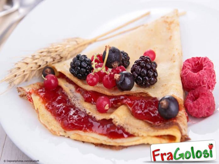 Ricetta 20 crepes dolci