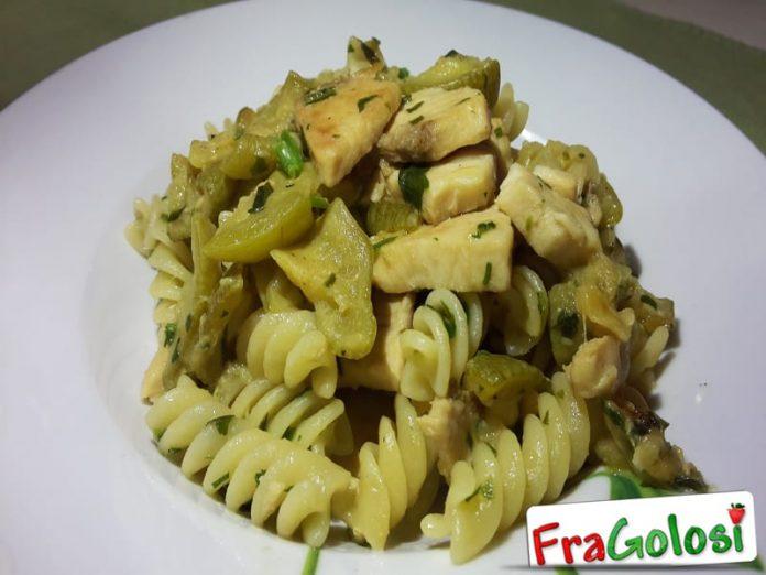 Eliche con Zucchine e Pesce Spada Light