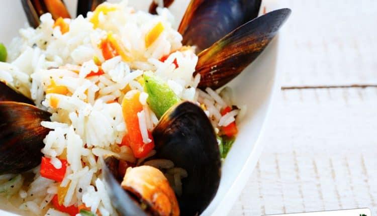 Insalata di riso e cozze Light