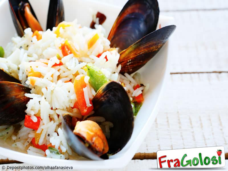 Insalata di riso e cozze Light