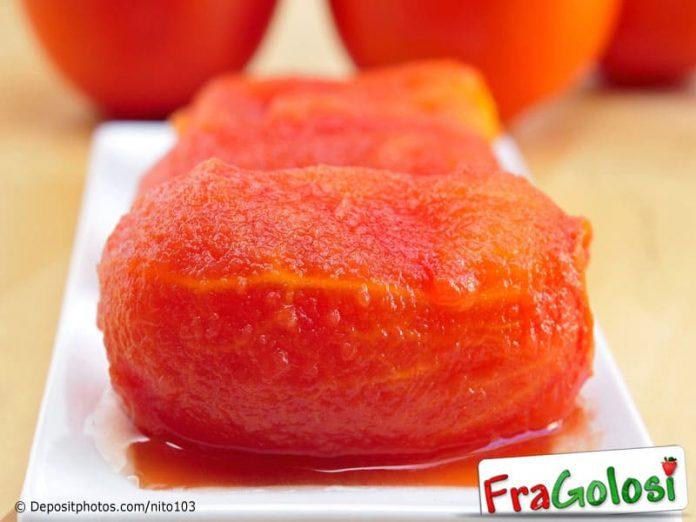 Metodo per pelare i pomodori