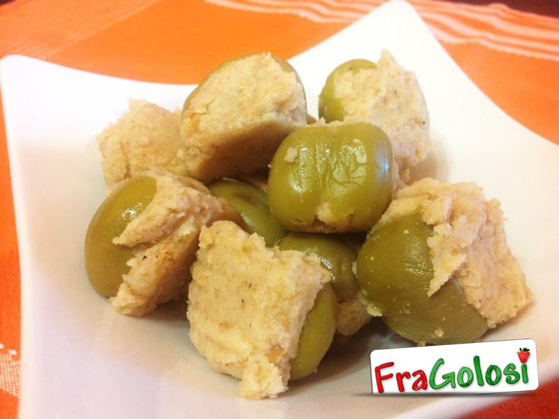 Olive ripiene alla messinese