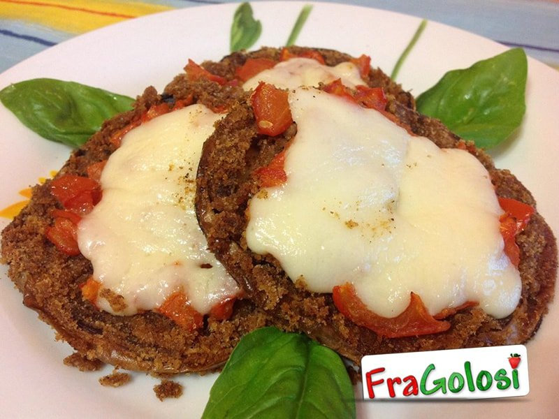 Pizzette di melanzane Light
