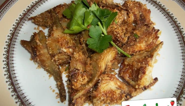 Carciofi con la mollica al forno