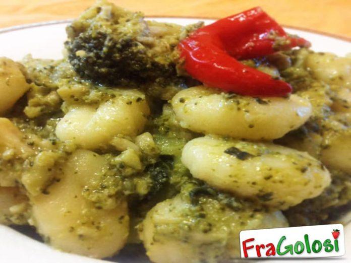 Gnocchi ai broccoli piccanti