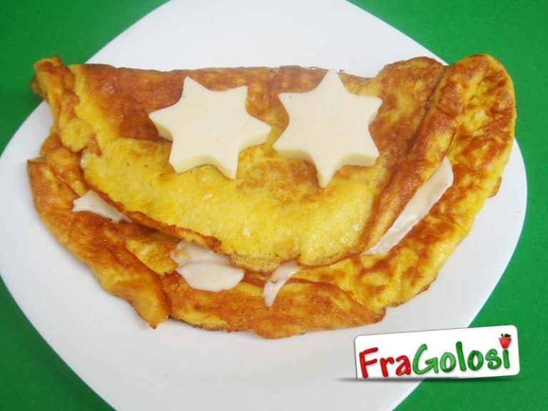Omelette au fromage