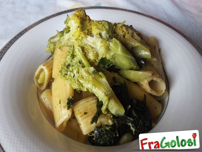 Pasta con i Broccoli alla Messinese